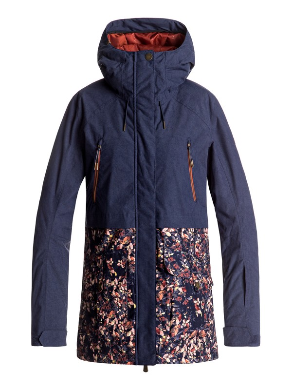0 Tribe - Snow Jacket Blue ERJTJ03120 Roxy