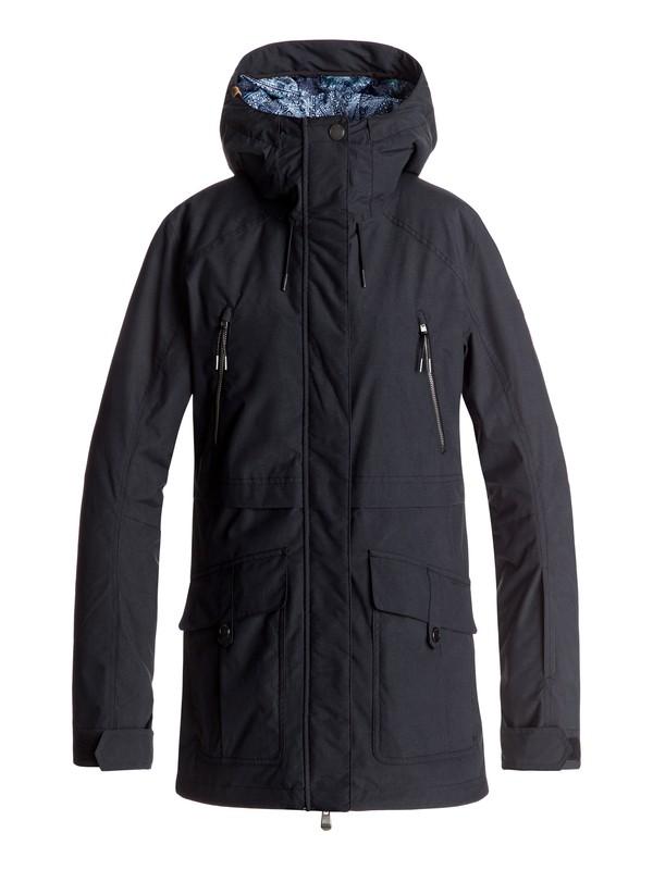 0 Tribe - Snow Jacket Black ERJTJ03120 Roxy