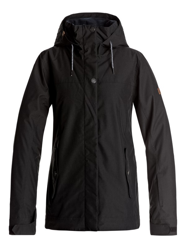 0 Billie - Snow Jacket Black ERJTJ03121 Roxy