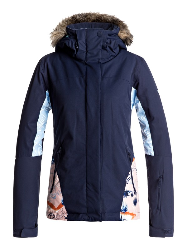 0 Jet Ski - Snow Jacket Orange ERJTJ03124 Roxy