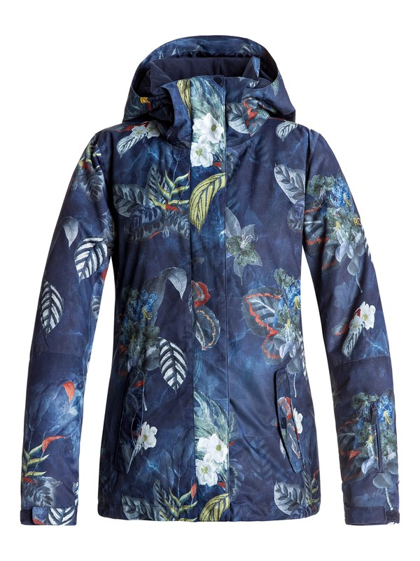 0 ROXY Jetty - Snow Jacke Blau ERJTJ03125 Roxy