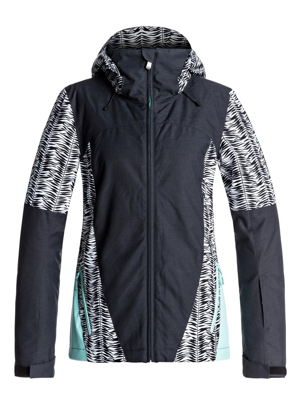 0 Sassy - Snow Jacket Black ERJTJ03126 Roxy
