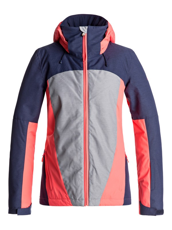 0 Sassy - Snow Jacket Grey ERJTJ03126 Roxy