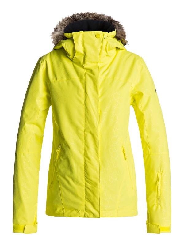 0 Jet Ski - Snow Jacket Yellow ERJTJ03131 Roxy