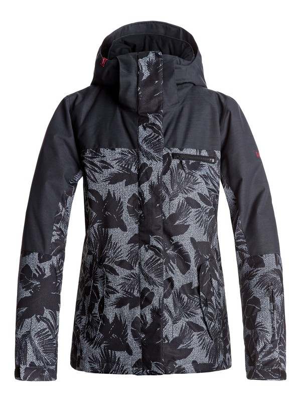 0 ROXY Jetty - Snow Jacket Black ERJTJ03132 Roxy