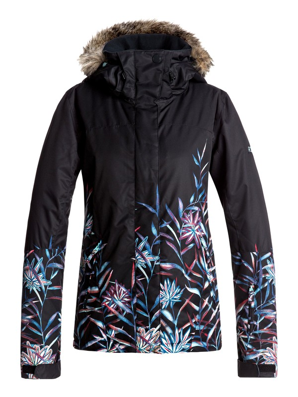 0 Jet Ski SE - Snow Jacket Black ERJTJ03137 Roxy