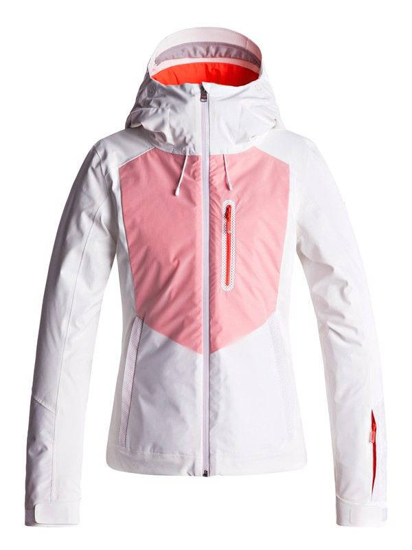 0 ROXY Premiere - Snow Jacket White ERJTJ03140 Roxy