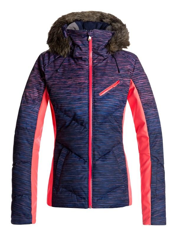 0 Snowstorm - Snow Jacket Orange ERJTJ03141 Roxy