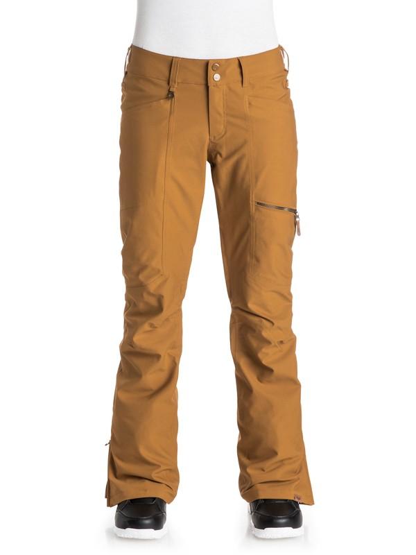 0 Cabin Snow Pants Brown ERJTP03021 Roxy