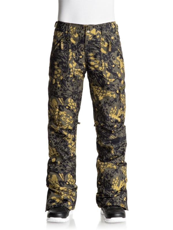 0 Nadia Printed Snow Pants  ERJTP03032 Roxy