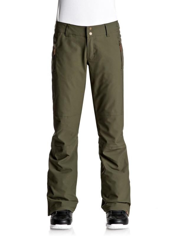 0 Cabin - Pantalones Para Nieve Verde ERJTP03041 Roxy