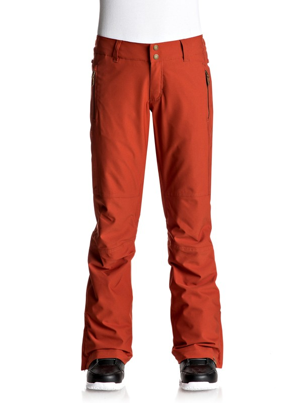 0 Cabin - Pantalones Para Nieve Rojo ERJTP03041 Roxy