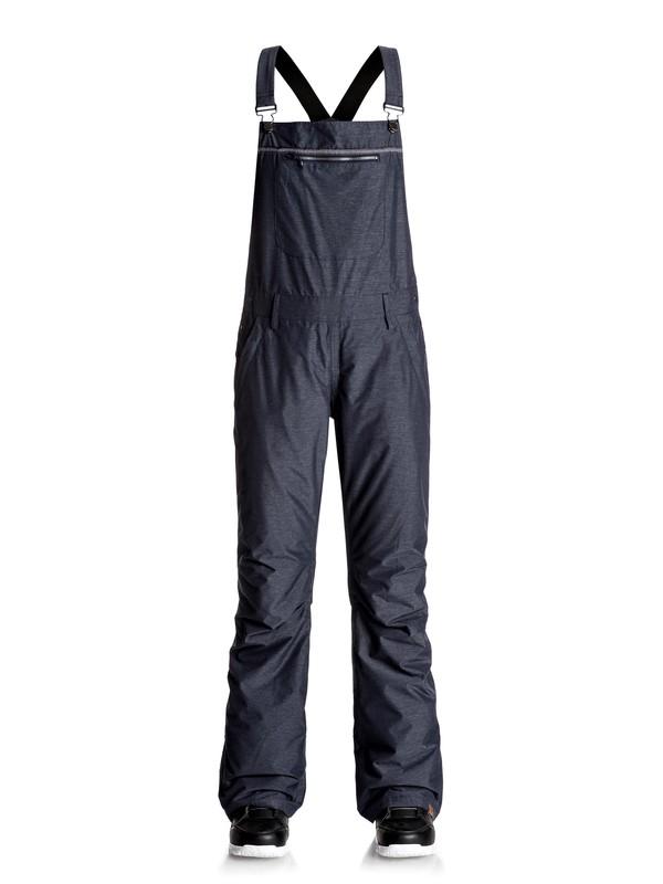 0 Non Stop - Pantalones Para Nieve Con Tirantes Azul ERJTP03042 Roxy