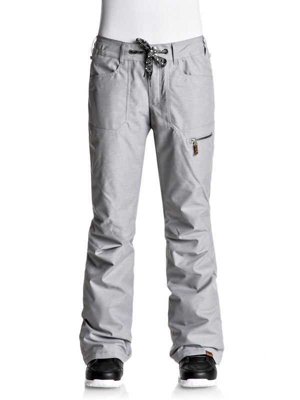 0 Rifter - Snow Pants Gray ERJTP03044 Roxy