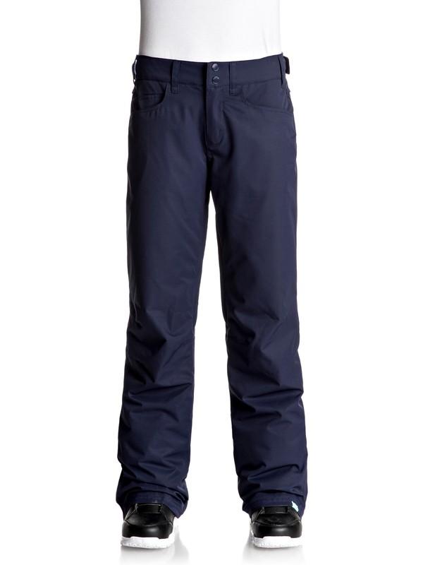 0 Backyard - Pantalones Para Nieve Azul ERJTP03045 Roxy