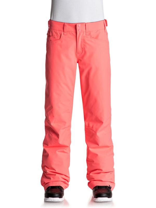 0 Backyard - Snow Pants Orange ERJTP03045 Roxy