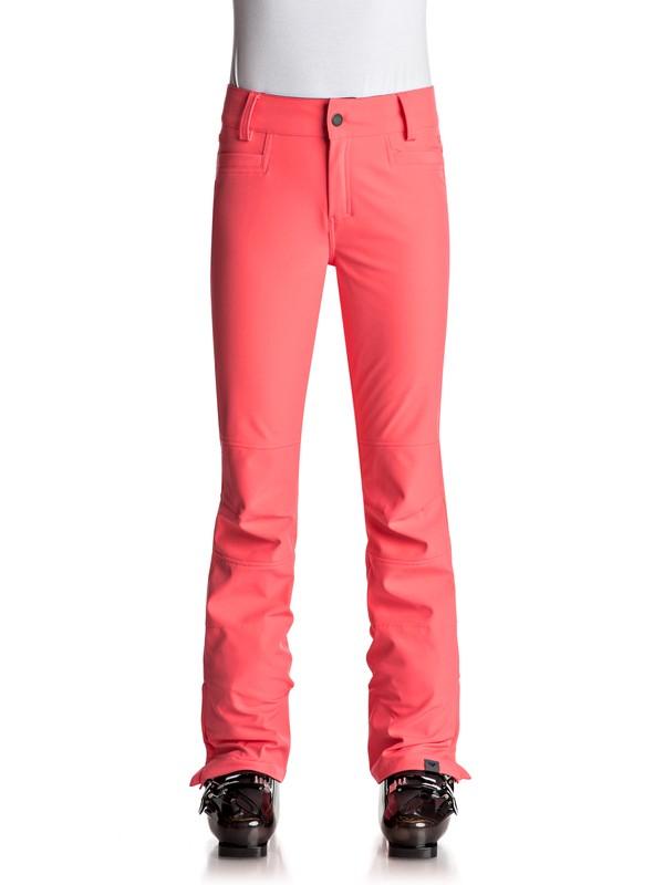 0 Creek - Pantalones Para Nieve Naranja ERJTP03046 Roxy