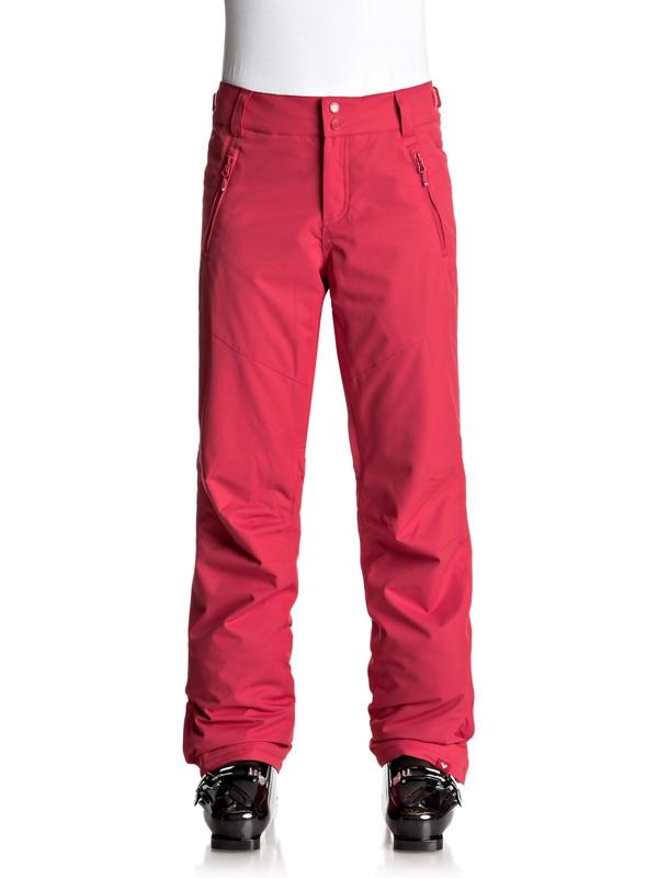 0 Winterbreak - Pantalones Para Nieve Rojo ERJTP03048 Roxy