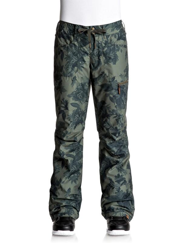 0 Rifter - Pantalones Para Nieve Verde ERJTP03055 Roxy