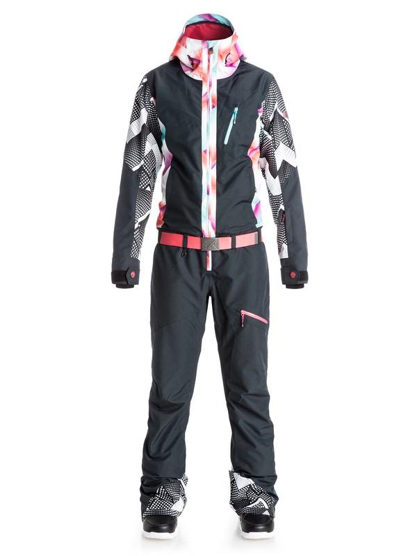0 Pop Snow Impression One Piece Snow Suit  ERJTS03002 Roxy