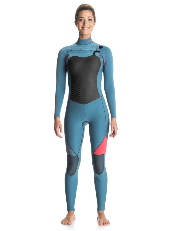 0 Performance 4/3mm Chest Zip Wetsuit  ERJW103001 Roxy