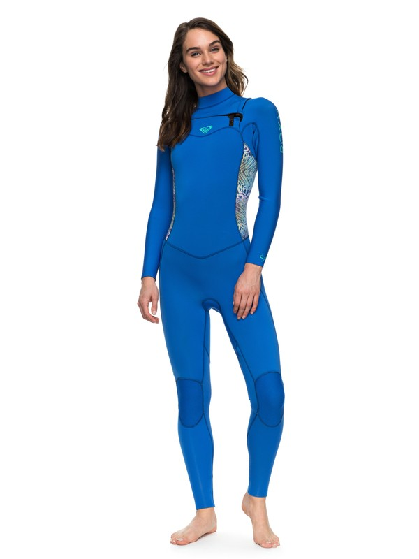 0 4/3mm Syncro Series - Chest Zip GBS Wetsuit Blue ERJW103022 Roxy