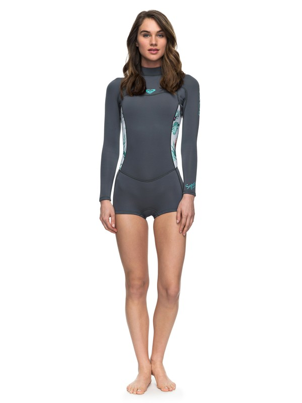 0 2mm Syncro Series FLT - Long Sleeve Springsuit Blue ERJW403014 Roxy