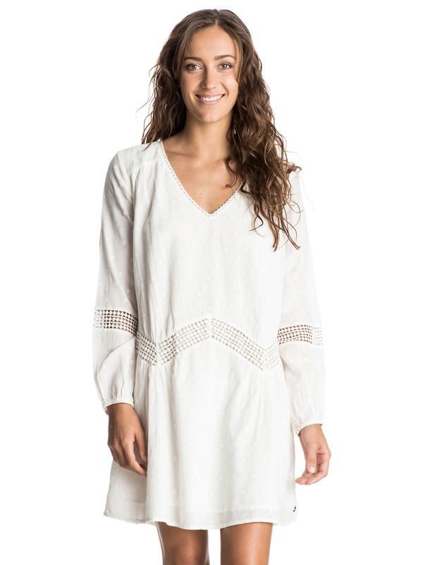 0 Cali Stars Long Sleeve Dress  ERJWD03068 Roxy