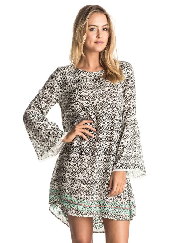 0 City Limits  Long Sleeve Dress  ERJWD03085 Roxy