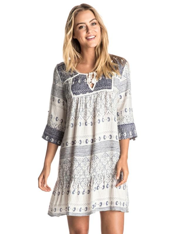 0 Lucky Blue Dress  ERJWD03090 Roxy