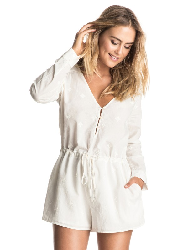 0 Highways Revisited - Playsuit Weiss ERJWD03102 Roxy