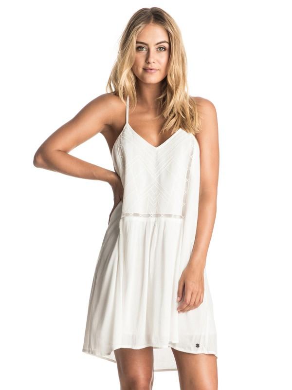 0 Prism Pattern - Strappy Dress White ERJWD03114 Roxy