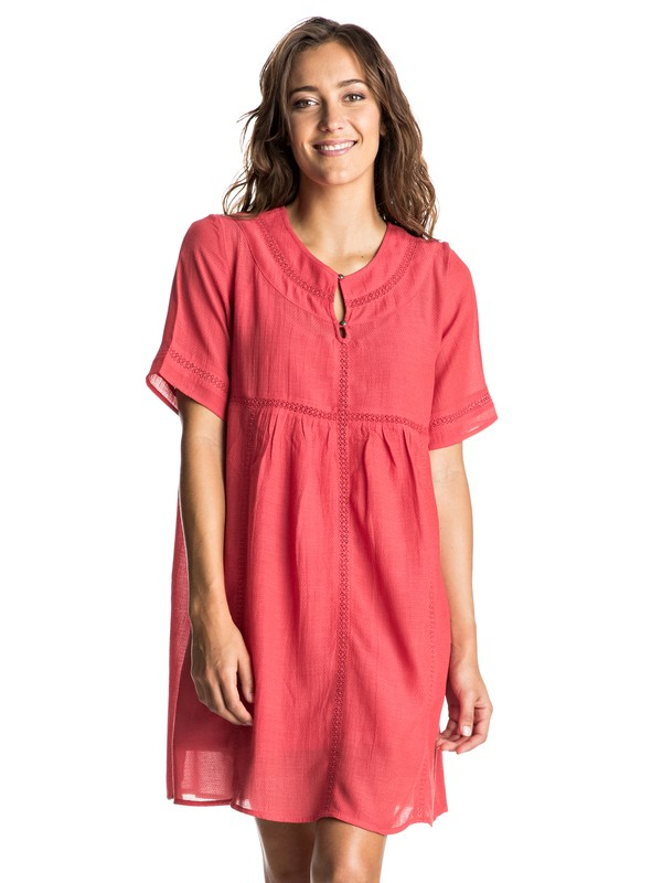 0 Zapotec Short Sleeve Dress  ERJWD03115 Roxy