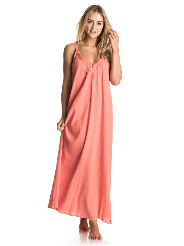 0 Perpetual Dream - Long Dress Pink ERJWD03120 Roxy