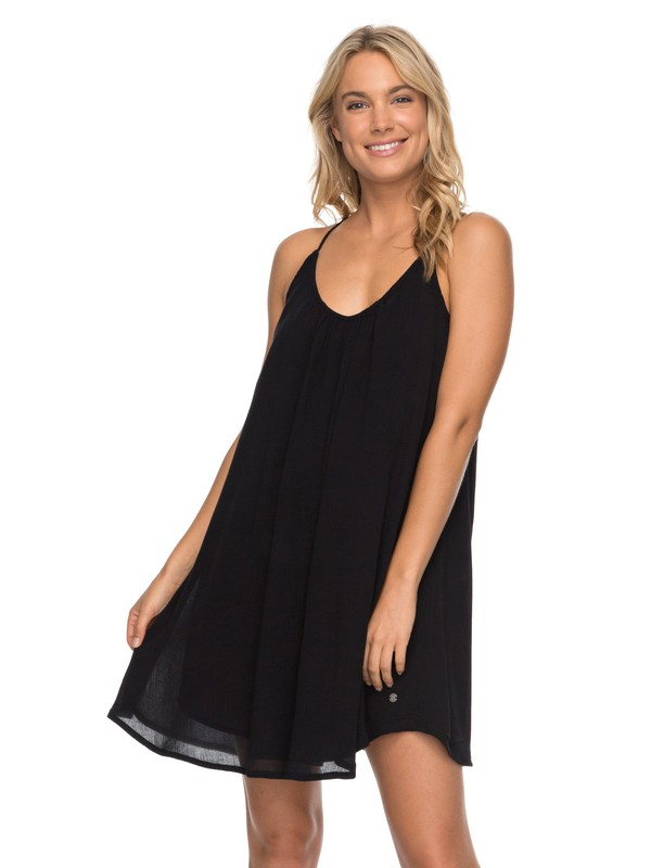 0 Great Intentions - Strappy Dress Black ERJWD03195 Roxy