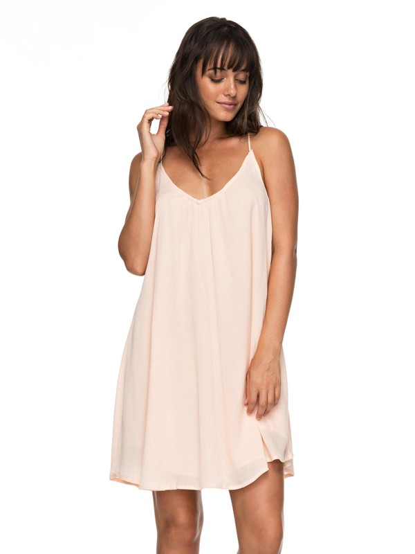 0 Great Intentions - Strappy Dress Pink ERJWD03195 Roxy