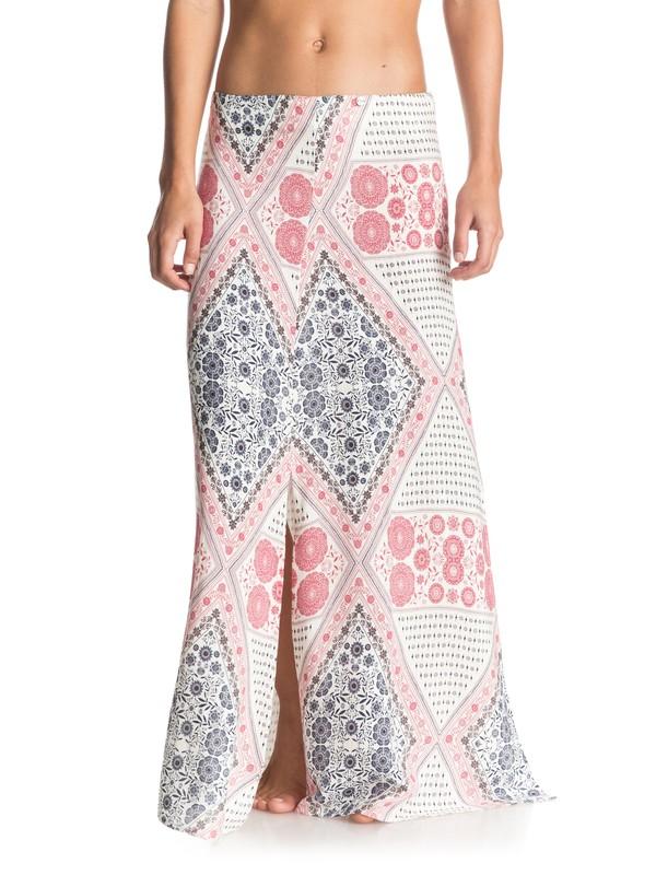 0 Sri Vibe Maxi Skirt White ERJWK03020 Roxy