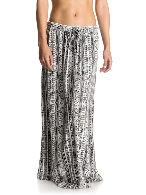 0 Solid Air Maxi Skirt White ERJWK03025 Roxy