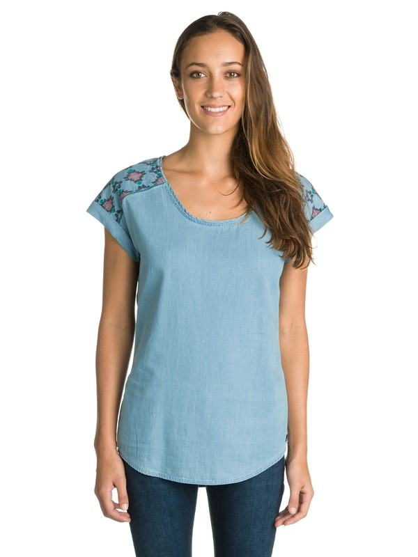 0 Evergreen Top  ERJWT03002 Roxy
