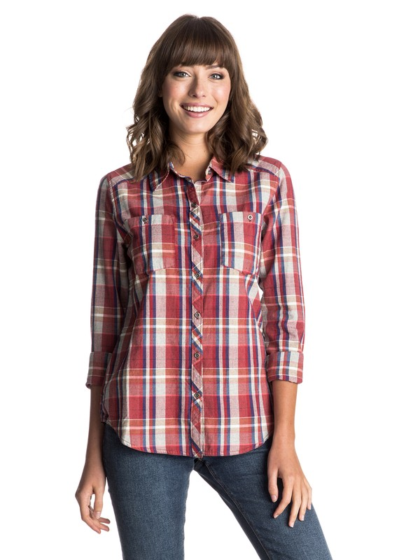 0 Sneaky Peaks Long Sleeve Shirt  ERJWT03027 Roxy