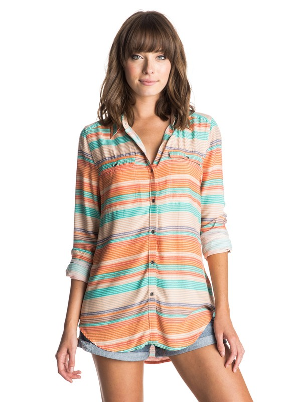 0 Rock Star Long Sleeve Shirt  ERJWT03049 Roxy