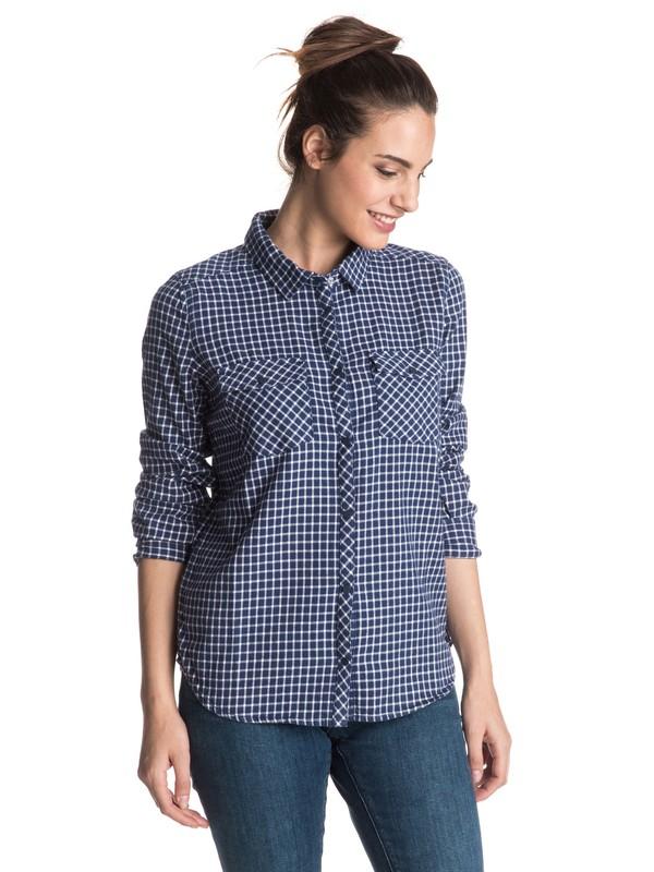 0 Squary Cool Long Sleeve Flannel Shirt  ERJWT03098 Roxy