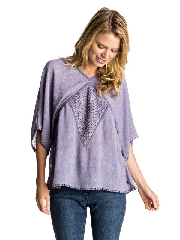 0 Hippie Bohemian Top  ERJWT03129 Roxy