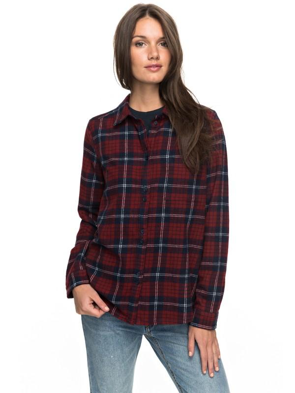 0 Heavy Feelings Long Sleeve Shirt Red ERJWT03149 Roxy