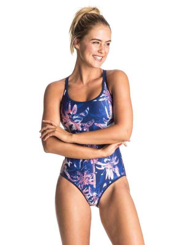 0 Keep It ROXY - One-Piece Swimsuit Blue ERJX103064 Roxy