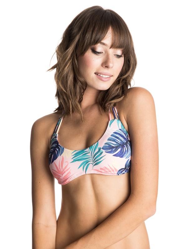 0 Dry Wind Halter Tri Bikini Top  ERJX303090 Roxy