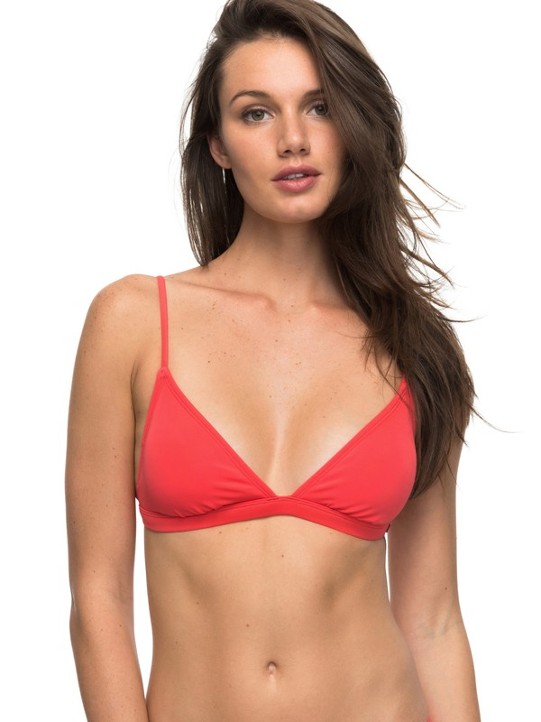0 ROXY Essentials - Fixed Triangle Bikini Top  ERJX303523 Roxy