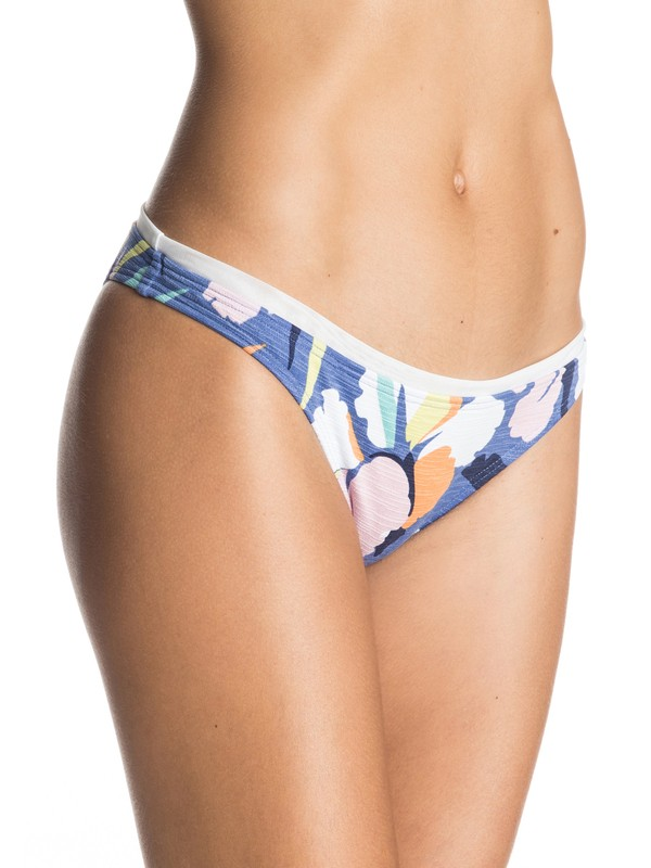 0 Noosa Floral Surfer Bikini Bottoms Purple ERJX403029 Roxy
