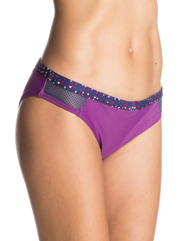 0 Caribbean Sunset Bikini Bottoms Purple ERJX403090 Roxy