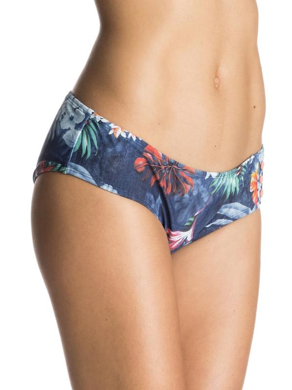 0 Honolula Shorty Bikini Bottoms Blue ERJX403121 Roxy